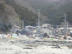 東日本大震災街の被害状況